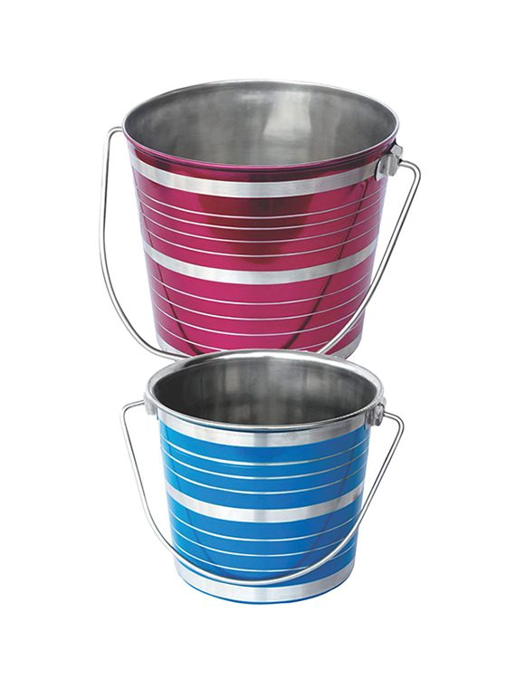 Colored Bucket