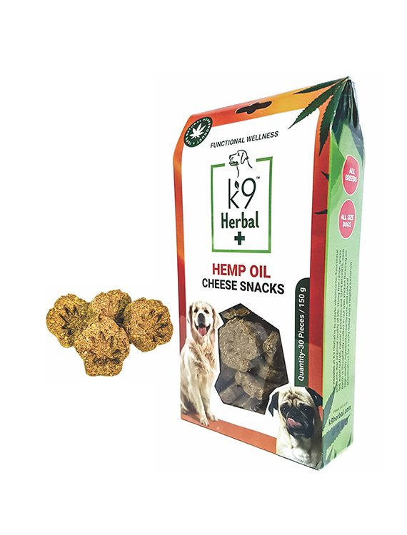 Hemp Oil Cheese Snacks